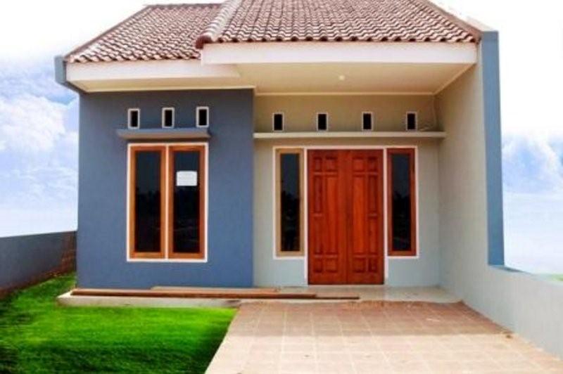 model rumah sangat sederhana murah terlihat kreatif
