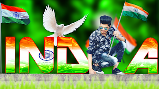 15 august photo editing hindi 2019, Independence day images picsart 2019