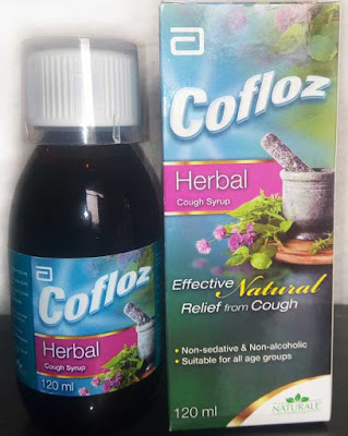 cofloz herbal cough syrup packing as well as bottle