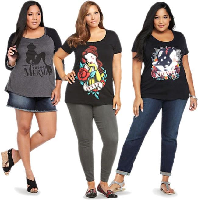moda plus size-roupas plus size-roupas plus size online-t-shirts-plus size-camisetas-personalizadas-roupas-femininas-disney-princesas