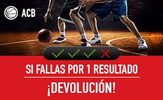 sportium ACB: Combinada 'con seguro'19-20 mayo