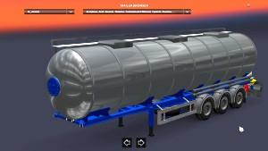 Trailer Cistern Chrome Mod 1.26