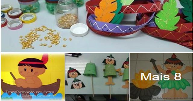 12 Ideias para o Dia do Índio