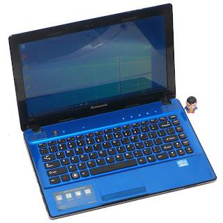 Laptop Lenovo ideapad Z370 Core i3 Bekas