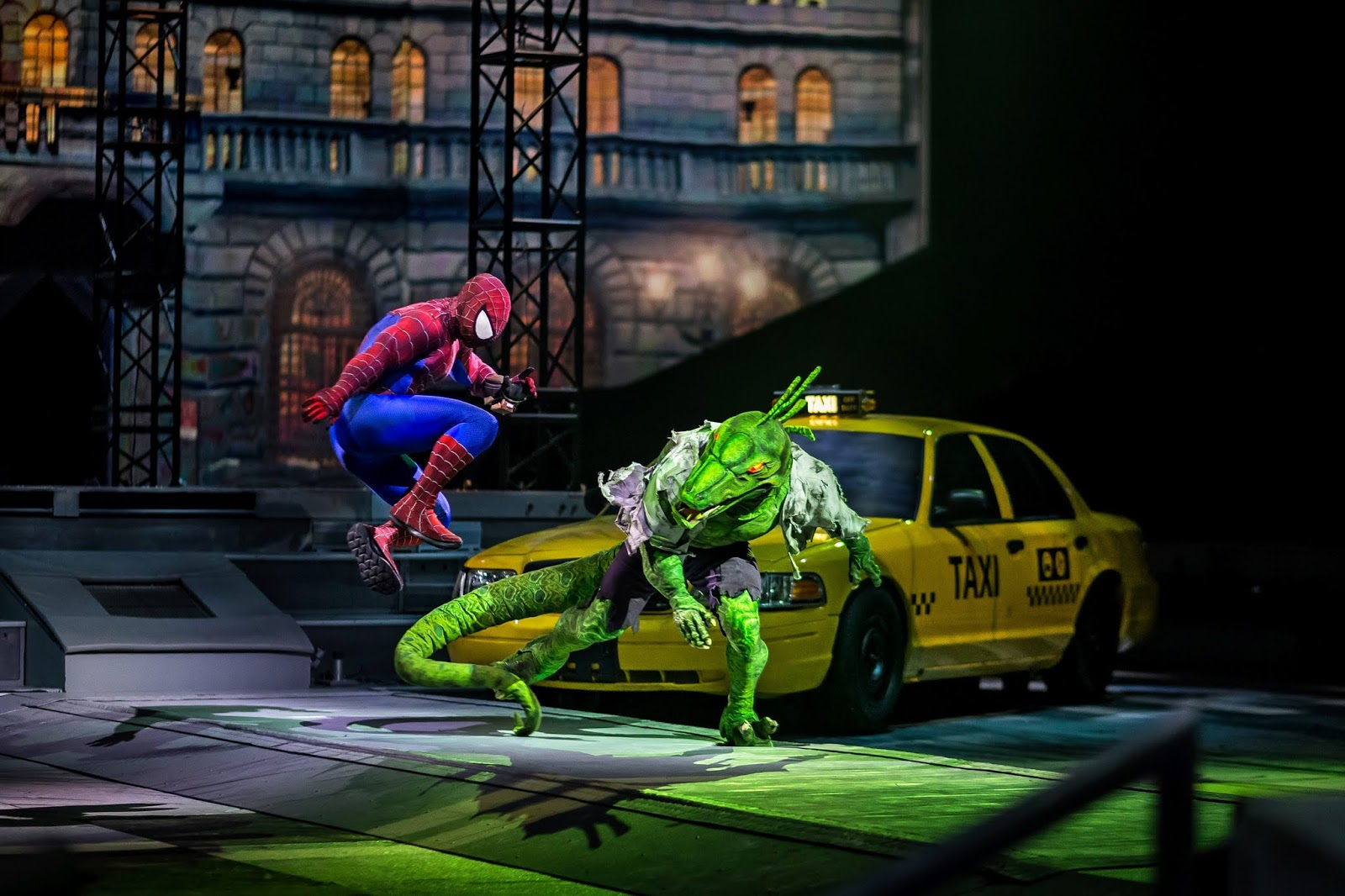 PHOTO: Spider Man battles The Lizard -Marvel Universe LIVE! will visit Newcastle in 2019 - here's how to sign-up for priority tickets