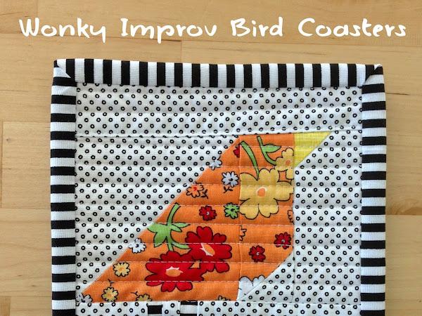 Wonky Bird Coasters {Tutorial}