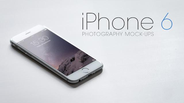 iPhone 6 Mock-Ups PSD
