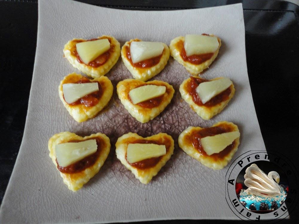 Feuilletés de chutney tomates gingembre
