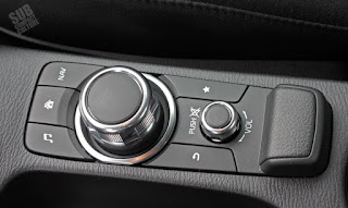 Scion iA infotainment controls