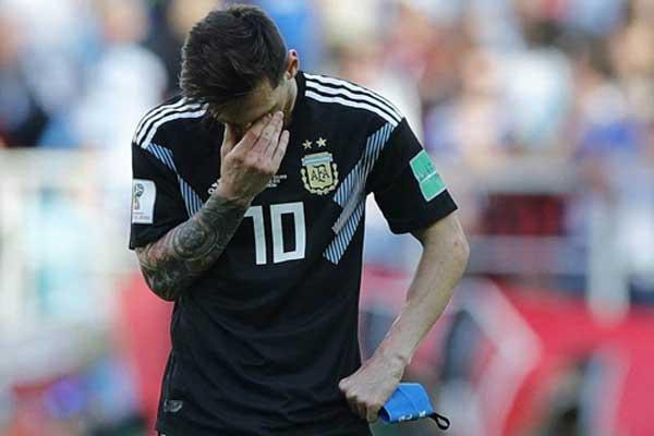 """Argentina: Đừng để Messi trở thành """"gót Achiles"""" 1"""