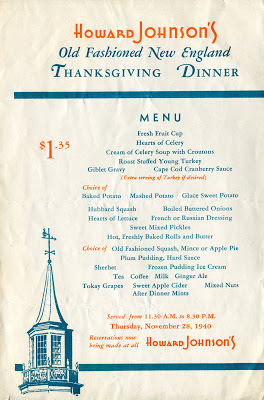 The American Menu Thanksgiving Confusion