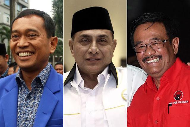 JR Saragih, Edy Rahmayadi, Djarot Syaiful Hidayat - Fakta Seputar Pilkada Sumut