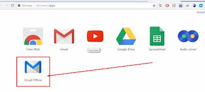 cara kirim pesan via gmail secara offline tanpa koneksi internet