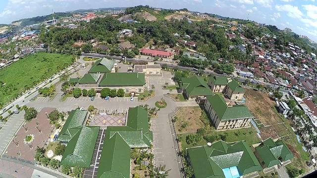 Foto Udara Spektakuler di Kawasan Islamic Center Samarinda