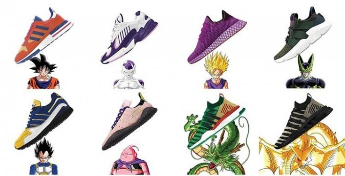 Zapatillas Dragon Ball X Adidas