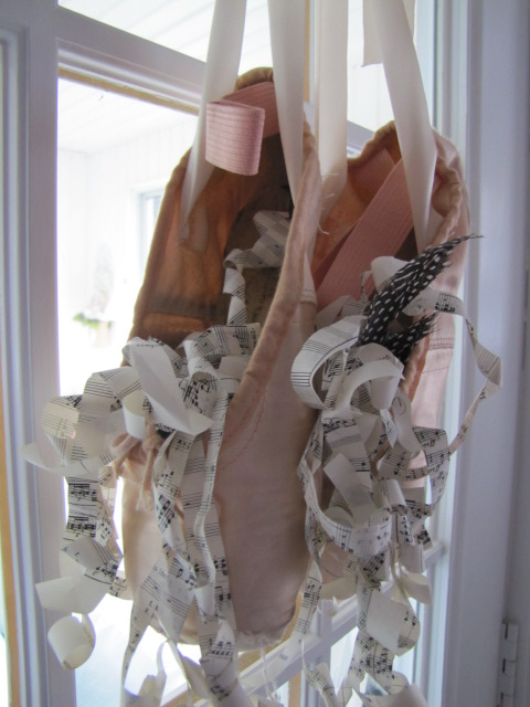 Two Sisters Cook Book and More Recycled Ballet Slippers