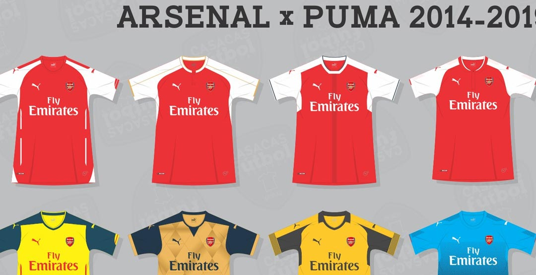 Will Adidas Make It Better? Here Are All 15 Puma Arsenal ...