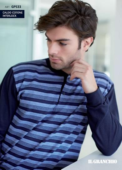 piżama_męska_włoska_bielizna_Enrico_coveri_rzymskie_zakupy