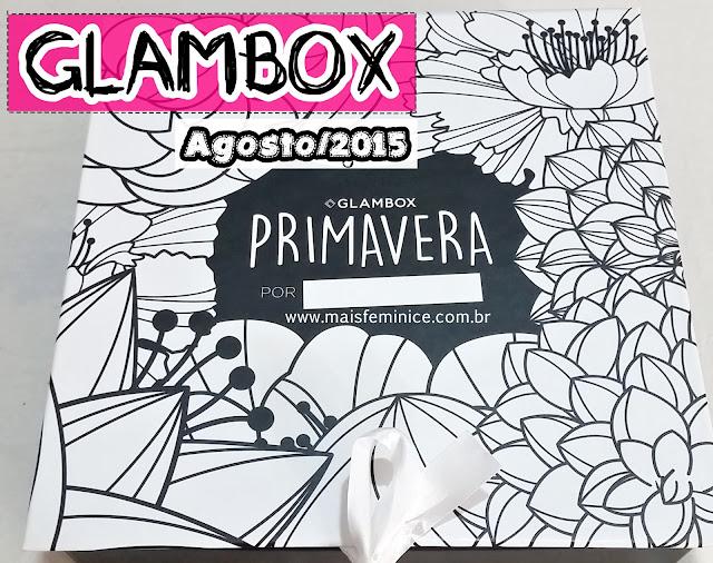 glambox de agosto de 2015