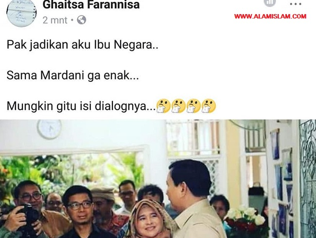 PNS pro Jokowi ini terancam dipecat karena memfitnah Prabowo dan Neno Warisman.