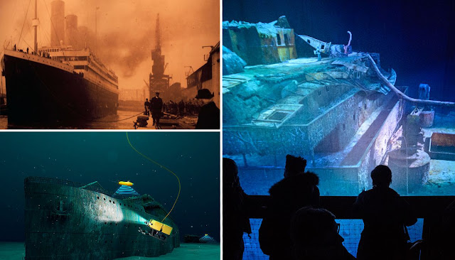 9 lucky people will dive to see the Titanic up close