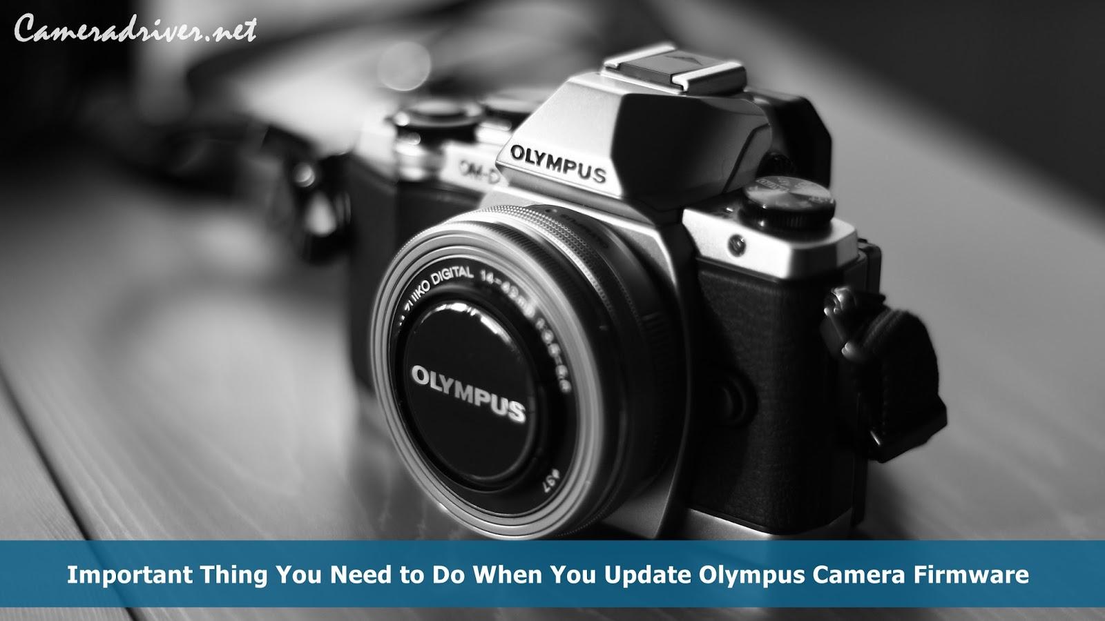 Olympus Camera Firmware