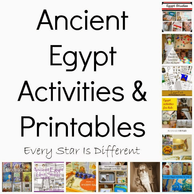 Ancient Egypt Printables Activities Klp Linky Every