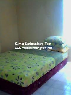 tempat tidur homestay gemilang karimunjawa