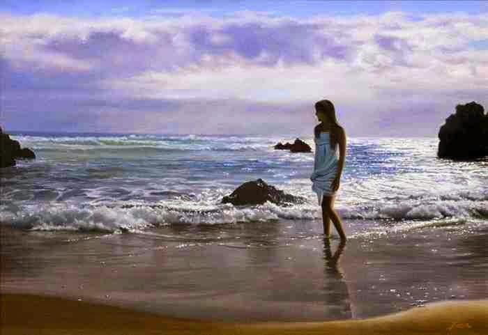 Испанский художник-реалист. Fernando Saenz Pedrosa