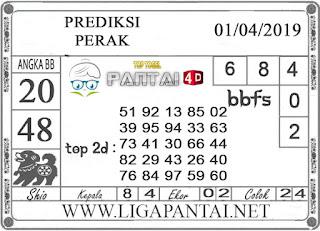 """Prediksi Togel """"PERAK"""" PANTAI4D 01 APRIL 2019"""