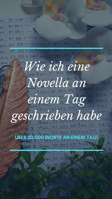 Wie ich eine Novella an einem Tag geschrieben habe | So habe ich über 20.000 Worte innerhalb von 24 Stunden geschrieben