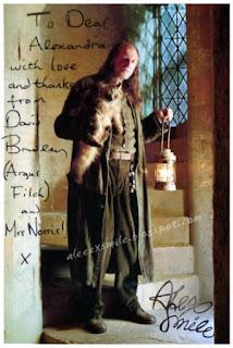 David Bradley Autograph Autograf Filch Harry Potter