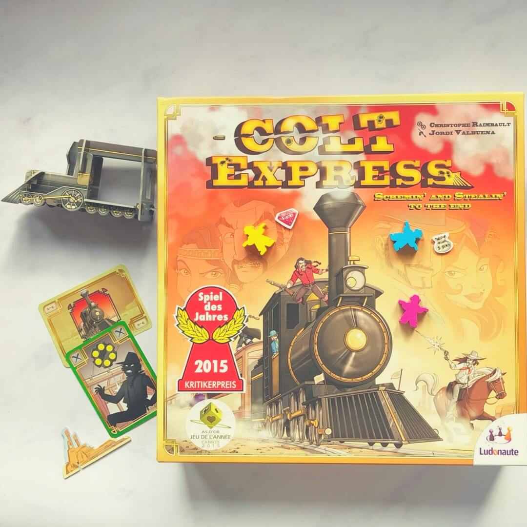 Colt Express featuring a train, shooting, and stealing!