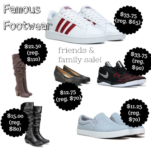 daf513abadbf 25% off Famous Footwear Entire Purchase Sale (thru 10 8)Deals and To-Dos
