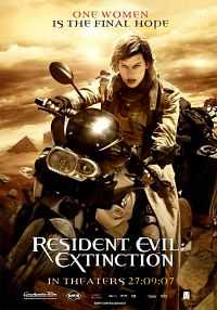 Resident Evil Extinction (2007) Hindi - Tamil - Telugu - Eng 400mb BDRip 480p