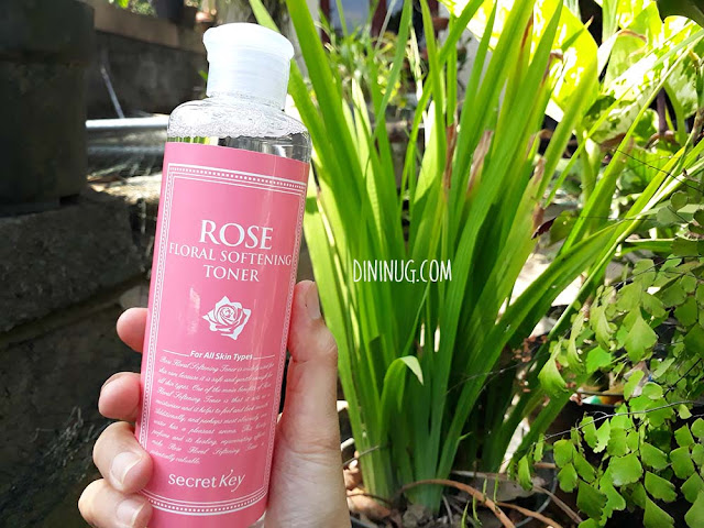 Secretkey-rose-softening-toner