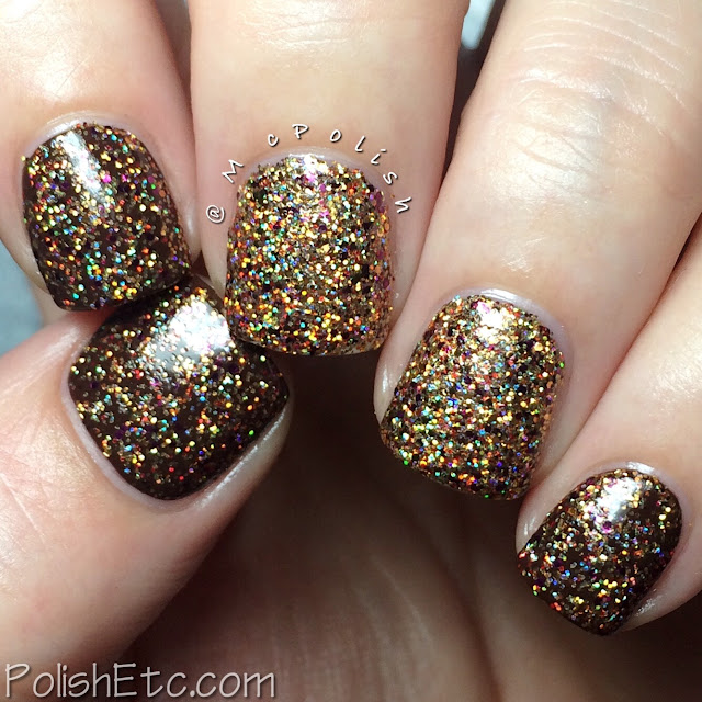 Nine Zero Lacquer - Thanksgiving Trio - McPolish - Stuffed