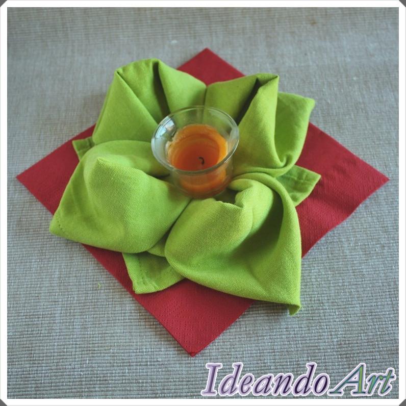Flor servilleta