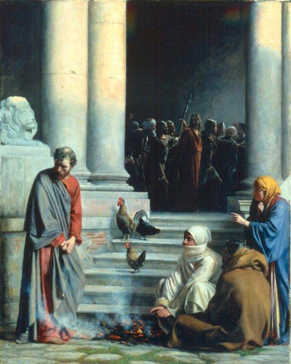 Carl Heinrich Bloch 1834-1890 - Danish painter