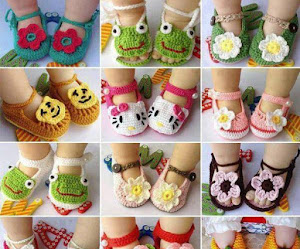 Cómo tejer sandalias crochet para bebé