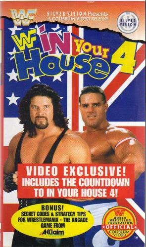 WWF / WWE - In Your House 4 - Great White North - Event poster