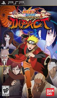 Naruto Shippuden (Ultimate Ninja Impact) Iso PSP Terbaru