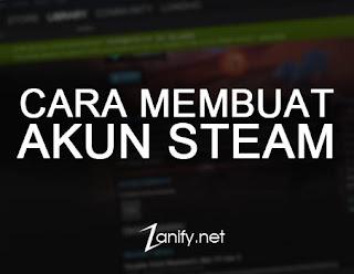 Cara Membuat Akun Steam