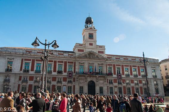 Casa de correos. Ruta lowcost por Madrid