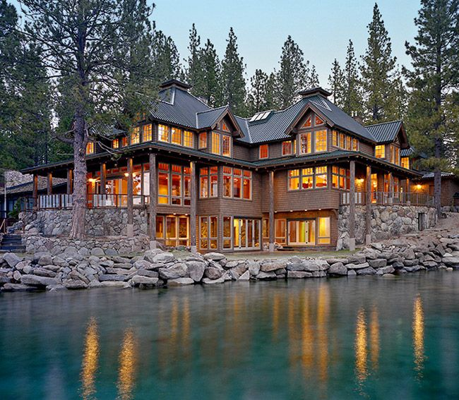 Midwest Luxury Lake Homes: Dream House Of The Day