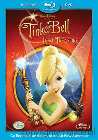 Tinker Bell And The Lost Treasure 2009 BRRip Hindi Dual Audio 700MB
