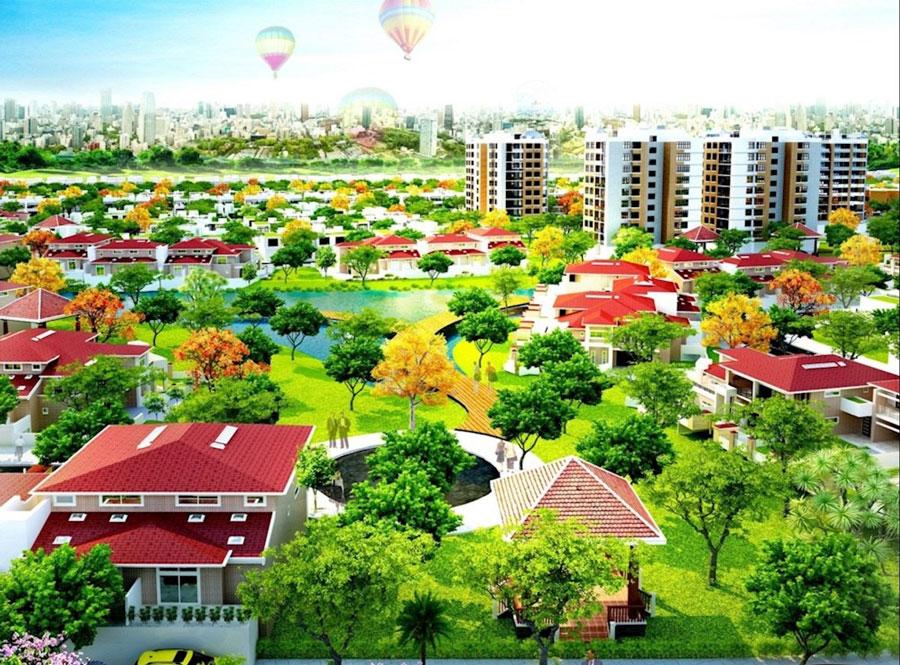 Khu đô thị Dragon City ở Phú Mỹ Hưng, Quận 7