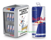 Logo Vinci 34 Mini frigo con forniture di 48 lattine Red Bull