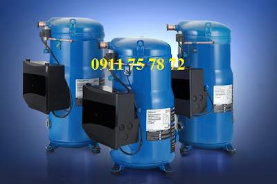 Thay mới, lắp đặt Blcok máy nén , cụm máy nén lạnh Danfoss SM148S4VC - 12hp