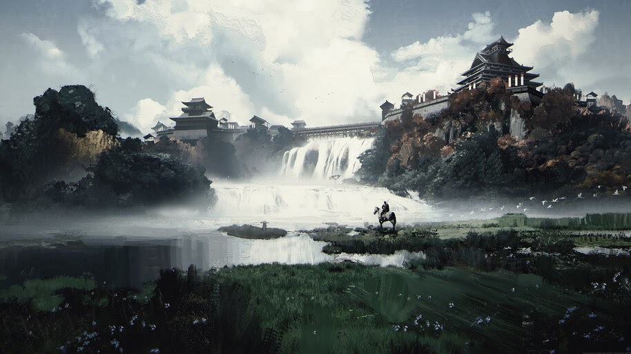 Ghost of Tsushima, Game, Art, Scenery, 4K, #7.2308
